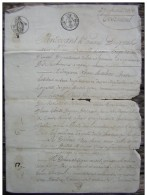Agen 1806, Testament De Jean Marliac (généalogie) - Manuscrits
