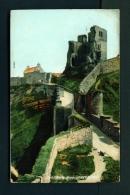 ENGLAND  -  Scarborough  Castle Keep  Used Vintage Postcard As Scans - Scarborough