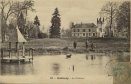 D 86 - QUINçAIS - Le Château - Animée - Autres Communes