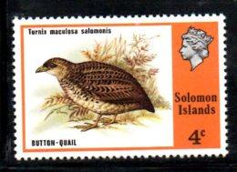 Y1435 - SOLOMON , Yvert N. 300  ***  MNH Bird Button - Isole Salomone (1978-...)