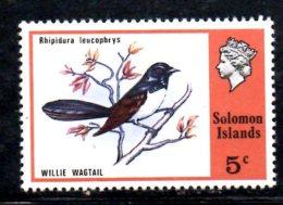 Y1436 - SOLOMON , Yvert N. 301  ***  MNH Bird Wagtail - Isole Salomone (1978-...)