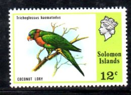Y1437 - SOLOMON , Yvert N. 304  ***  MNH Bird Lory - Isole Salomone (1978-...)