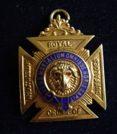ROYAL ORDER OF ANTEDILUVIAN BUFFALOES   LODGE  MASSONIC  MASSONICO ENGLAND - Freemasonry