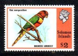Y1475 - SOLOMON , Yvert N. 311  ***  MNH Bird Vini - Isole Salomone (1978-...)