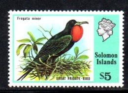Y1478 - SOLOMON , Yvert N. 324  ***  MNH Bird Fregata Minor - Isole Salomone (1978-...)