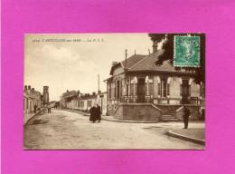 L AIGUILLON SUR MER  Ardt  FONTENAY LE COMTE  1920   LA POSTE   EDIT  CIRC OUI - France