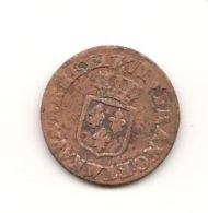 1771 W  SOL OU DEMI SOL 3 GR - 1715-1774 Louis XV. Le Bien-Aimé