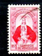 Y1916 - VENEZUELA 1952 , Yvert  Usato N. 420 FORMATO PICCOLO - Venezuela