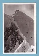 Haute Savoie, Chamonix-Mont-Blanc, DEPART De La PISTE De SKI Du BREVENT, SKIEURS - Chamonix-Mont-Blanc