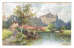 RB 1092 - Early Art Artist Signed Postcard - Arundel Castle - Sussex - Arundel