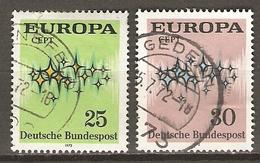 ALLEMAGNE    -   EUROPA   -    Oblitérés - Europa-CEPT