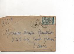 Maroc Enveloppe De Casablanca Pour Paris - Marokko (1891-1956)