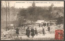 77 Orroy-sur-Loing. Inondations. Recherche Des Victimes - Frankreich