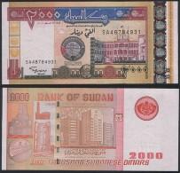 Sudan P 62 - 2.000 2000 Dinars 2002 - UNC - Soudan