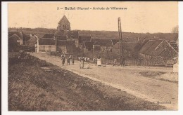 Bellot :  Arrivée De Villeneuve - Autres Communes