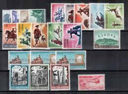 SAN MARINO - 1961 - Complete Year - ANNATA COMPLETA + PA - NUOVI - MNH - Annate Complete
