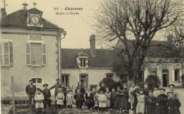 D 89 - CHARMOY - Mairie Et École Animation SUP - Charmoy
