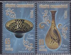 LR77. Turkey, 2008, Traditional Turkish Arts - Glassware, MNH (**) - 1921-... Republic