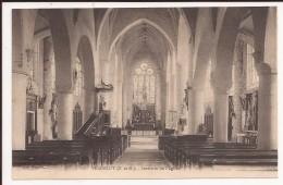 VERDELOT : Interieur De L Eglise - Autres Communes