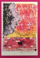 REGGIO EMILIA PER LA  RESISTENZA CARTOLINA ED ANNULLO  SPECIALE  1983 SACRIFICIO FRATELLI CERVI - Eventi