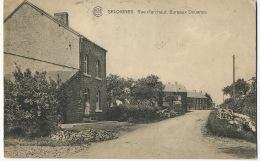 Seloignes Momignies Rue D' En Haut Bureaux Douanes Customs  Edit Poucet Delvaux 4 Timbres 1922 - Momignies