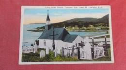 Canada > Quebec>Tadousac    Little Indian Church =======   ======ref  2191 - Quebec