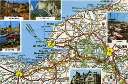 MAP - YVON - NORMANDIE - Maps