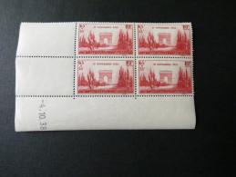 Coin Daté Du 04/10/38 N°403 - Anniversaire De L'Armistice 11 Novembre - 65c + 35c - 1930-1939