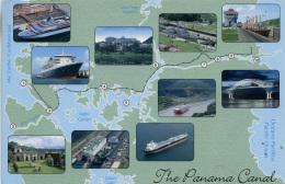 MAP - PANAMA CANAL - Maps