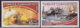 LR81. Turkey, 2008, 470 Years Since The Battle Of Preveza - Naval Forces Day, MNH (**) - 1921-... Republik