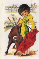 SPANISH SILK #4 - TORERO By ISABEL - Embroidered