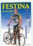 Christophe MOREAU , Autographe Manuscrit, Dédicace . 2 Scans. Cyclisme. Festina - Radsport