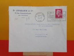 Flamme - 10 Aube, Troyes - Éts Lepailleur & Cie - 11.4.1970 - - Marcophilie (Lettres)