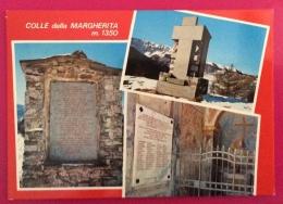 COLLE DELLA MARGHERITA PER LA RESISTENZA MARCIA SUI SENTIERI PARTIGIANI  CARTOLINA ED ANNULLO SPECIALE IN DATA 7/6/1981 - Eventi