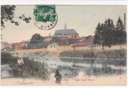 St Dizier,la Noue,eglise St Martin,couleur - Saint Dizier