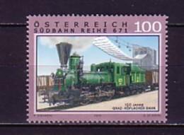 2010 Autriche Neuf ** N° 2689 Transport : Train : Locomotive à Vapeur - 2001-10 Neufs