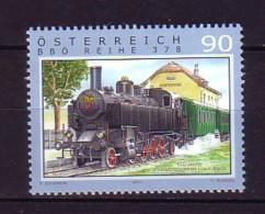 2011 Autriche Neuf ** N° 2776 Transport : Train : Locomotive à Vapeur : Gare - 1945-.... 2ème République