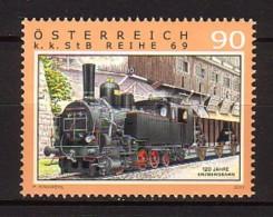 2011 Autriche Neuf ** N° 2785 Transport : Train : Locomotive à Vapeur : Gare - 1945-.... 2ème République
