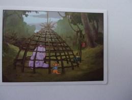 PANINI  Winnie L'ourson Et L'éfélant / Disney /  N°176 - Panini