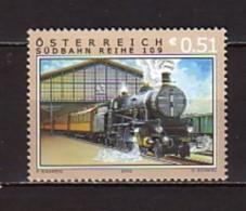 2002 Autriche Neuf ** N° 2225 Transport : Train : Locomotive : Gare De Vienne Sud - 2001-10 Neufs