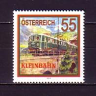 2010 Autriche Neuf ** N° 2683 Transport : Train électrique - 2001-10 Neufs
