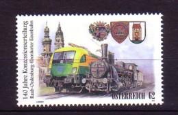 2012 Autriche Neuf ** N° 2857 Transport : Train : Locomotive : Armoirie - 1945-.... 2ème République