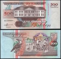 Suriname P 140 - 500 Gulden 9.7.1991 - UNC - Suriname