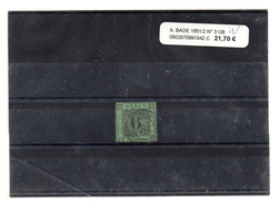 ALLEMAGNE BADE 1851 / 52 N° 3 OBLITERE - Bade