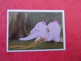 PANINI  Winnie L'ourson Et L'éfélant / Disney /  N°186 - Panini