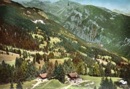 Anzere - Café De L'avenir,vue Sur Bellalui Et Mont Lachaux - VS Valais