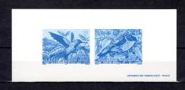 """Gravure Officielle De 2003 N° YT 3548 3551 """" OISEAUX D'OUTRE-MER : COLIBRI / TERPSIPHONE DE BOURBON """" - Kolibries"""