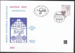 Czech Republic Prague 2001 / World Philatelic Exhibition HAFNIA 2001 Copenhagen - Exposiciones Filatélicas