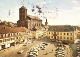 Homburg Saar Pfalz - Marktplatz - Saarpfalz-Kreis