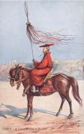 TIBET - CPA - A Lama Standard Bearer - Oilette - TBE - Tibet